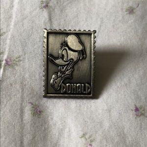 Donald Duck Postage Stamp Disney Pin